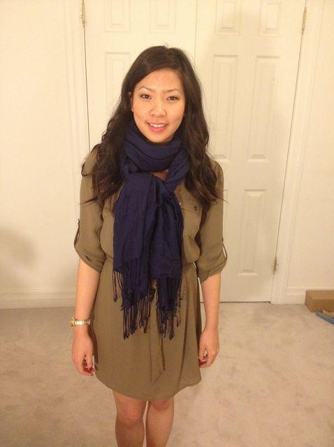 Fotografía - Cómo usar una bufanda 5 maneras
