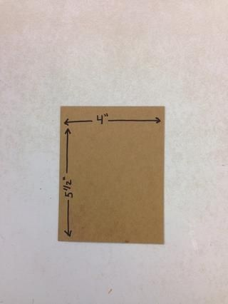 Cortar cartón en 4