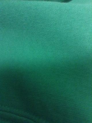 ¿Verde? Jaja parece turquesa pero's green
