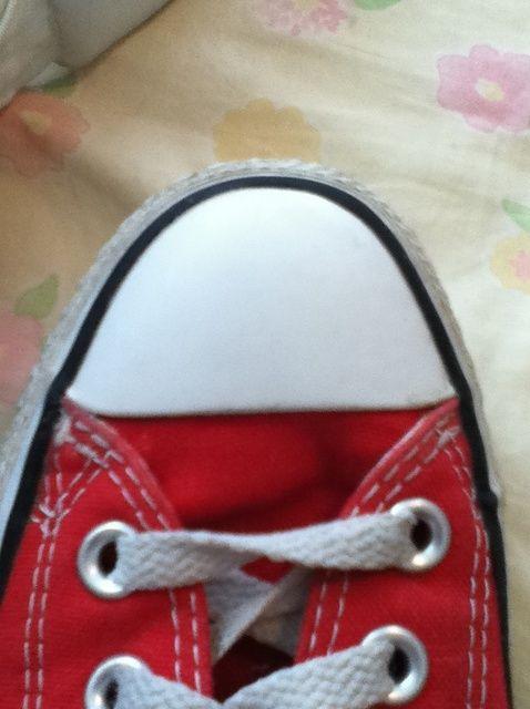 Cómo blanquear los zapatos