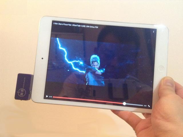 Ahora eres libre para moverse y disfrutar de sus medios de comunicación de su iPad mini a través de la Hi - Fi sonido de su receptor estéreo doméstico. Ver demo en http://youtu.be/xcY45s70A4E