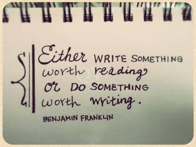 Cómo escribir porque usted puede