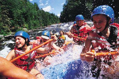 Fotografía - Cómo funciona el rafting