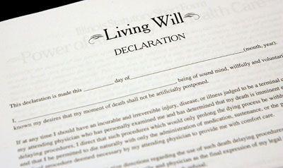 Fotografía - La creación de un testamento vital