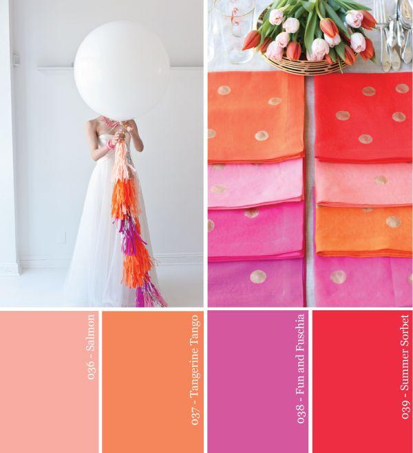 rojo-party-paleta fucsia-naranja-coral