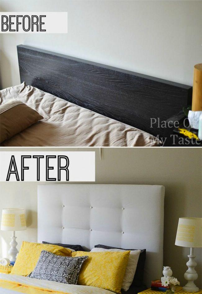 Antes y Después de IKEA Hack DIY Cabecera