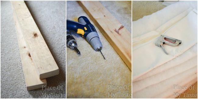 Materiales para IKEA hackear cabecero de bricolaje
