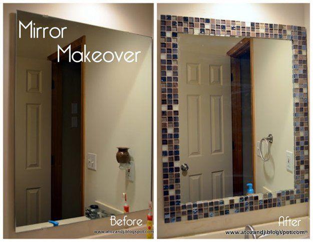 Estilo DIY Baño Makeover | http://artesaniasdebricolaje.ru/incredible-diy-bathroom-makeover/