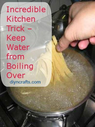 Truco de cocina increíble - Mantenga Agua de ebullición Más