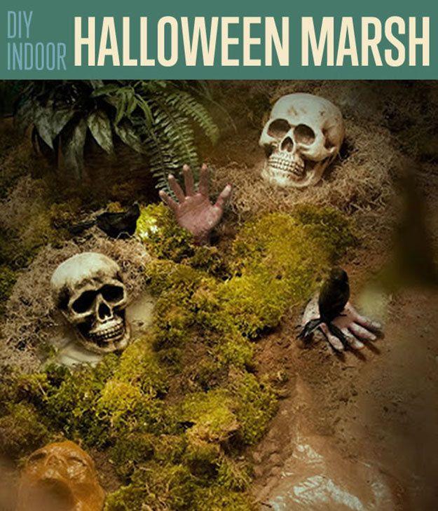 Fotografía - Cubierta pantano de Halloween | Bricolaje Decoración de Halloween