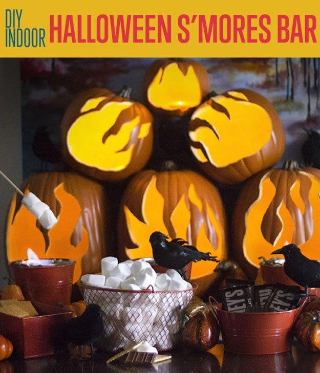 Fotografía - Cubierta S'mores de Halloween Bar | Fiesta de Halloween de Alimentos