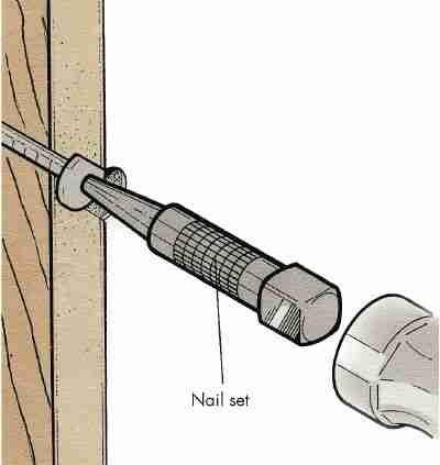 Cómo arreglar metimos Drywall Nails