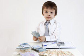 haciendo niño impuestos