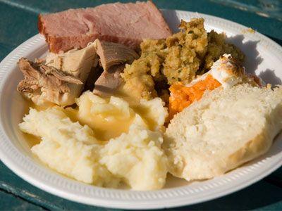 Comida tradicional de Acción de Gracias