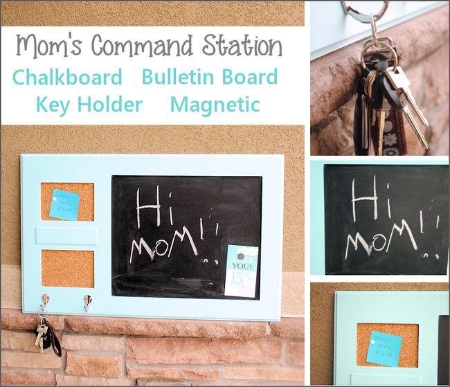 Mantenga la Familia organizado con esta estación Comando Gran DIY