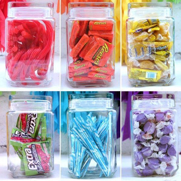 Rainbow Candy Bar