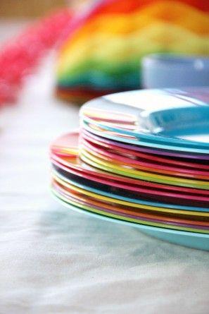 DIY fiesta de cumpleaños del arco iris