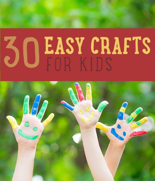 Fotografía - Manualidades para niños | 30 Easy Craft Proyectos para Niños