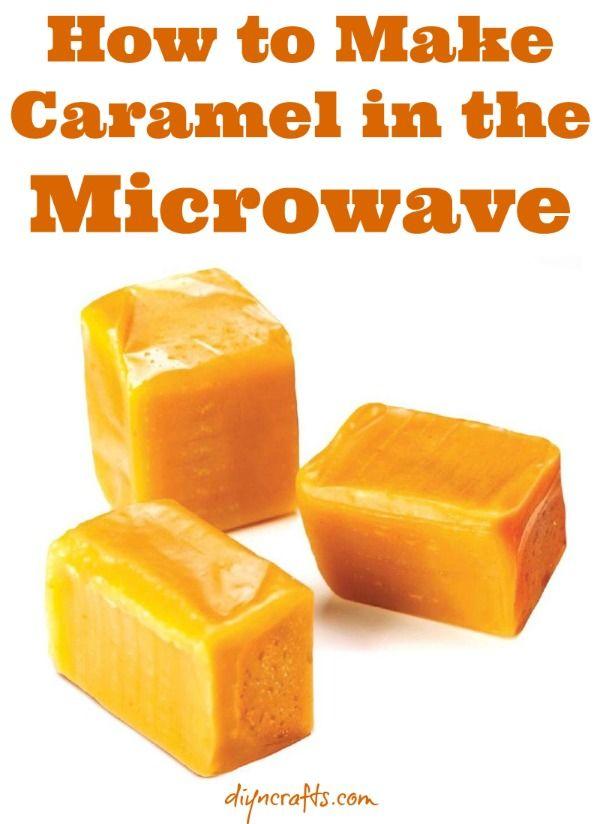 Cocina Quickie: Más fácil Receta para Soft Caramel Hecho en un Microondas {Receta vídeo}