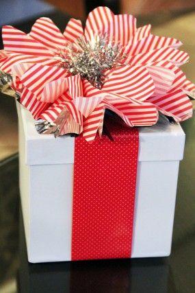 de última hora-Navidad-regalo-wrap bricolaje