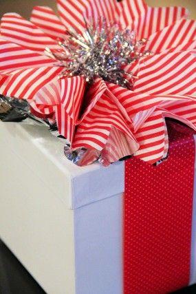 dulces de caña-Navidad-regalo-wrap bricolaje