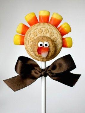 oreo-Turquía-pops-de-acción de gracias