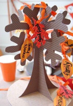 árbol de la gracias