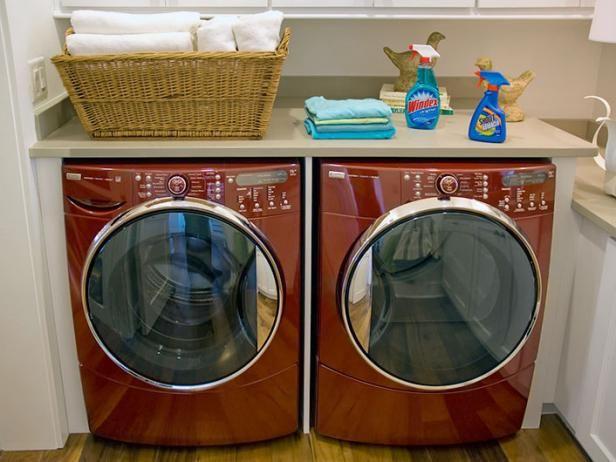 Fotografía - Lavandería Ideas de almacenamiento habitación