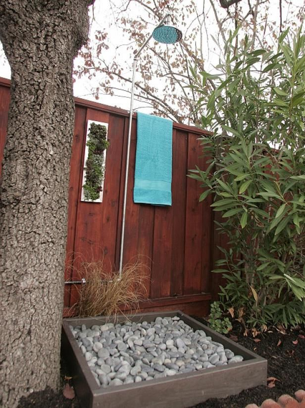 Fotografía - Deja que la naturaleza en con una ducha al aire libre