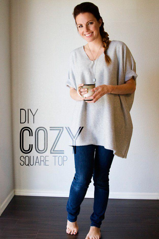 Ideas Bricolaje Moda para la Mujer | artesaniasdebricolaje.ru/diy-clothes-sewing-blouses-tutorial/