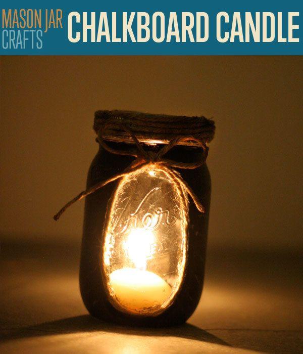 Fotografía - Oficios del tarro de albañil | Pizarra Luces de la vela