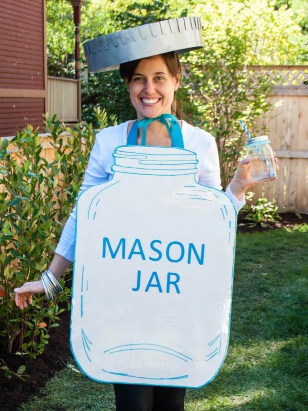 Fotografía - Mason frasco traje de halloween