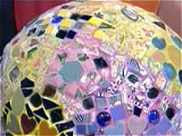 Fotografía - Bola jardín Mosaico
