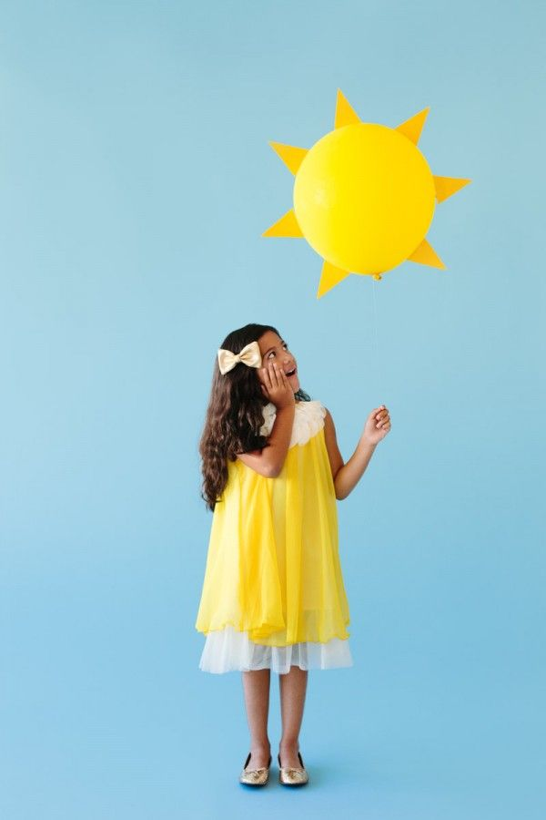 DIY Ray of Sunshine de vestuario