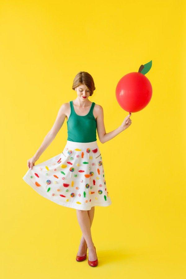 Caramelo DIY de Apple de vestuario