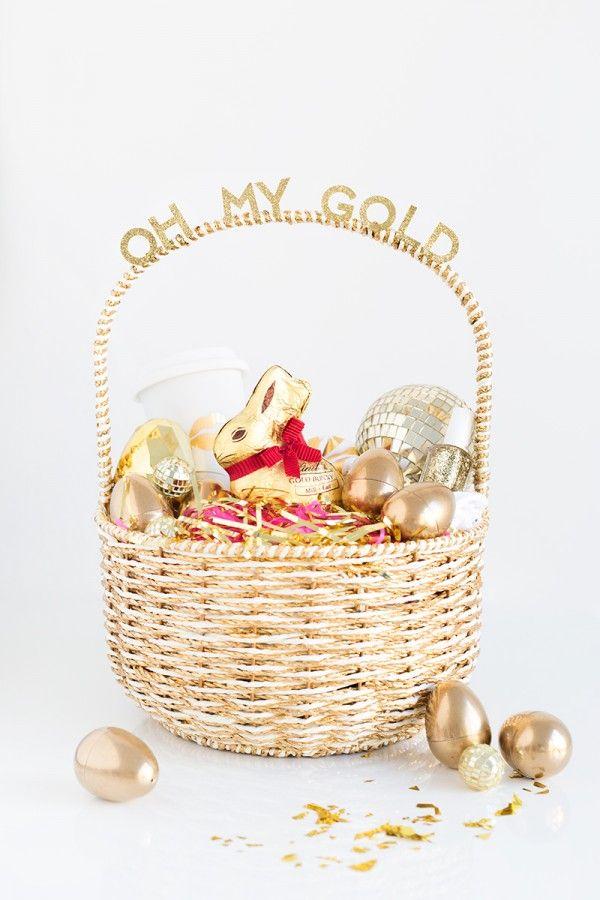 Fotografía - ¡Oh, mi oro! Cesta de Pascua para sus Gal Pals