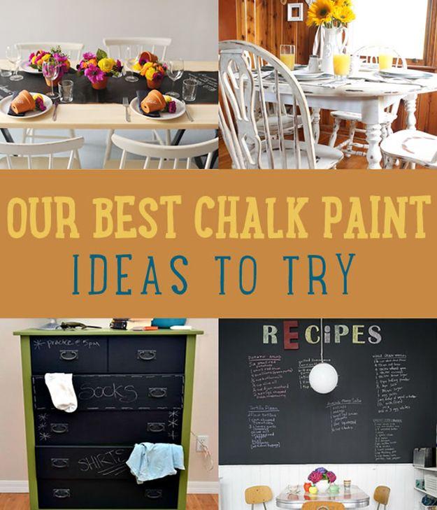 Fotografía - Nuestros pintura Ideas Mejor tiza para que usted intente en casa