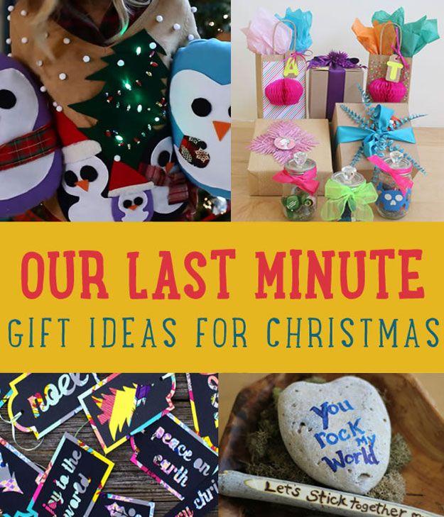 Nuestro regalo de última Ideas para la Navidad | Regalos creativos de Navidad