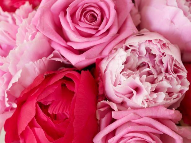 Fotografía - Peonías y flores similares