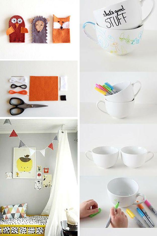 Proyectos de bricolaje para niños y Decoración para habitaciones Ideas | La inspiración de los sitios web de bricolaje de bricolaje Listo en http://artesaniasdebricolaje.ru/pinterest-diy-profiles-to-start-following