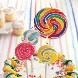 Rainbow Lollipop Vela