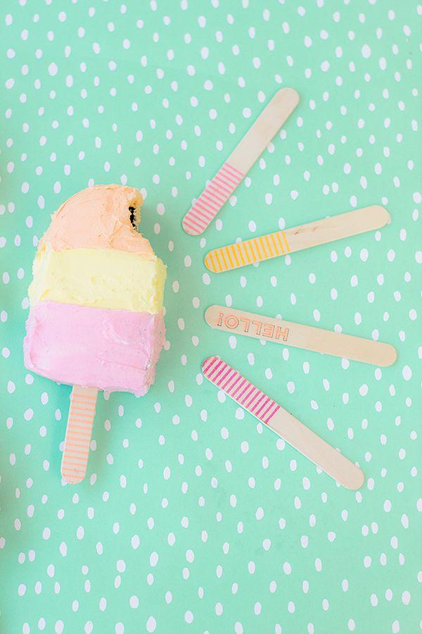 Tortas de helado para el verano