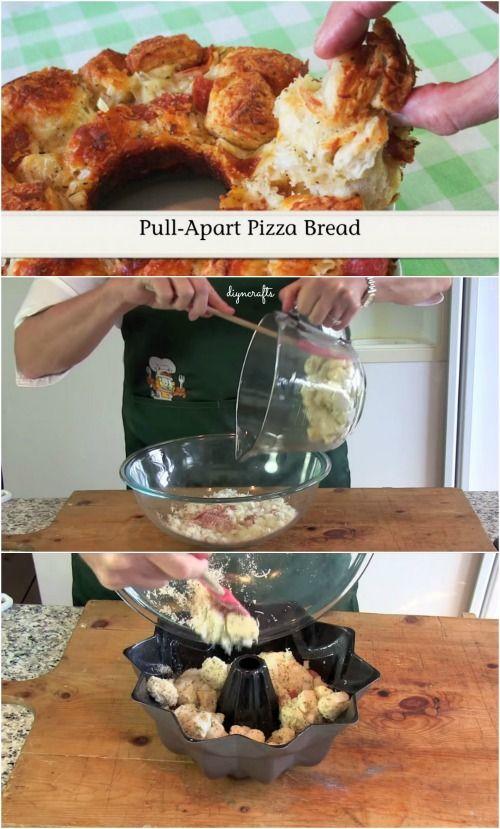 Pull-Aparte pizza Pan: Es fácil, es rápido, y lo más importante, sabe como el cielo!