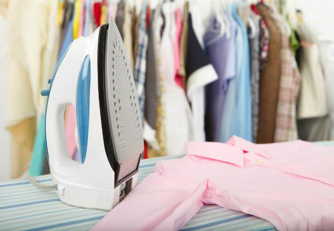 Fotografía - Consejo rápido: limpiar su ropa de hierro con sal de roca
