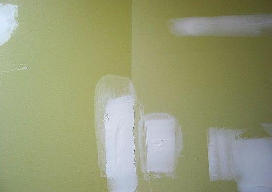 Parches Drywall dañado