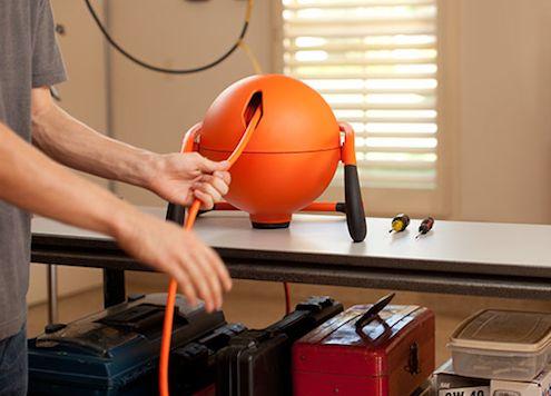 RoboReel Great Stuff - Cable de alimentación retráctil