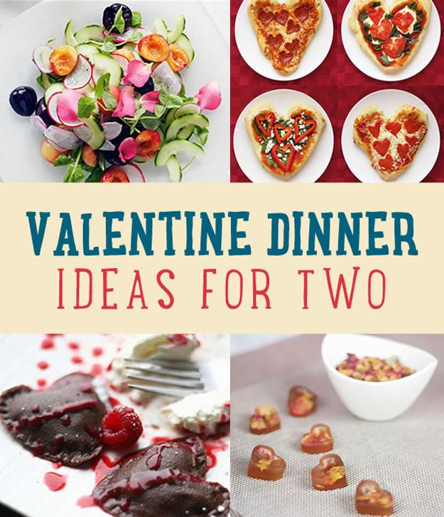Ideas románticas de la cena de San Valentín para dos | artesaniasdebricolaje.ru/romantic-valentine-dinner-ideas-for-two
