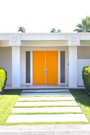 Naranja Puerta