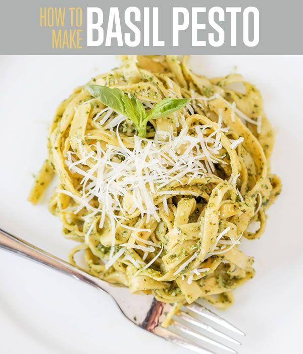 Fotografía - Receta Pesto deliciosos con albahaca fresca