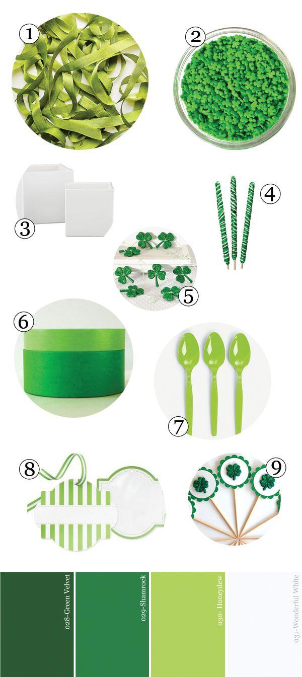 verde-blanca-st-patricks-día-party-alimentación-guía